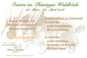 Ostern im Gasthof Thüringer Waldblick