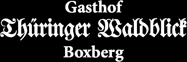 Gasthof Thüringer Waldblick